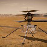 Hoy Ingenuity sobrevoló Marte
