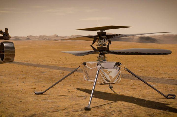 Ingenuity sobrevuela Marte